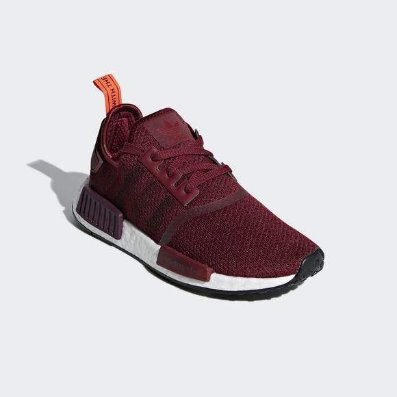 Adidas Nmd R Maroon Sneakers G27937 65